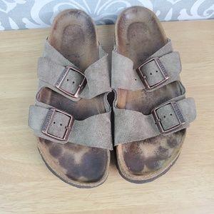 Used Birkenstock sandals